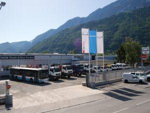 Garages BOGEY, Concession BOGEY BONNEVILLE. Garage Poids Lourds, Camion et Véhicules Utilitaires en Haute-Savoie BONNEVILLE 74